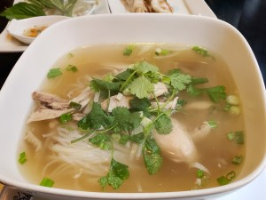 Chicken Phở at Bistro Southeast