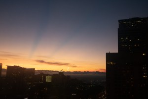 Crazy Seattle Sunrise