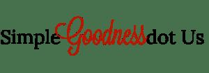 Simple Goodness Logo