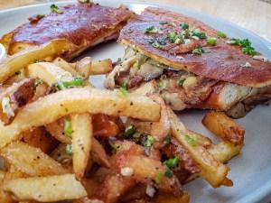 Cubano Panini with Fries
