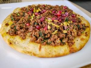 Lahmajun from Kanella Grill