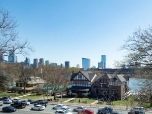 Boathouse Row and Philadelphia Skyline