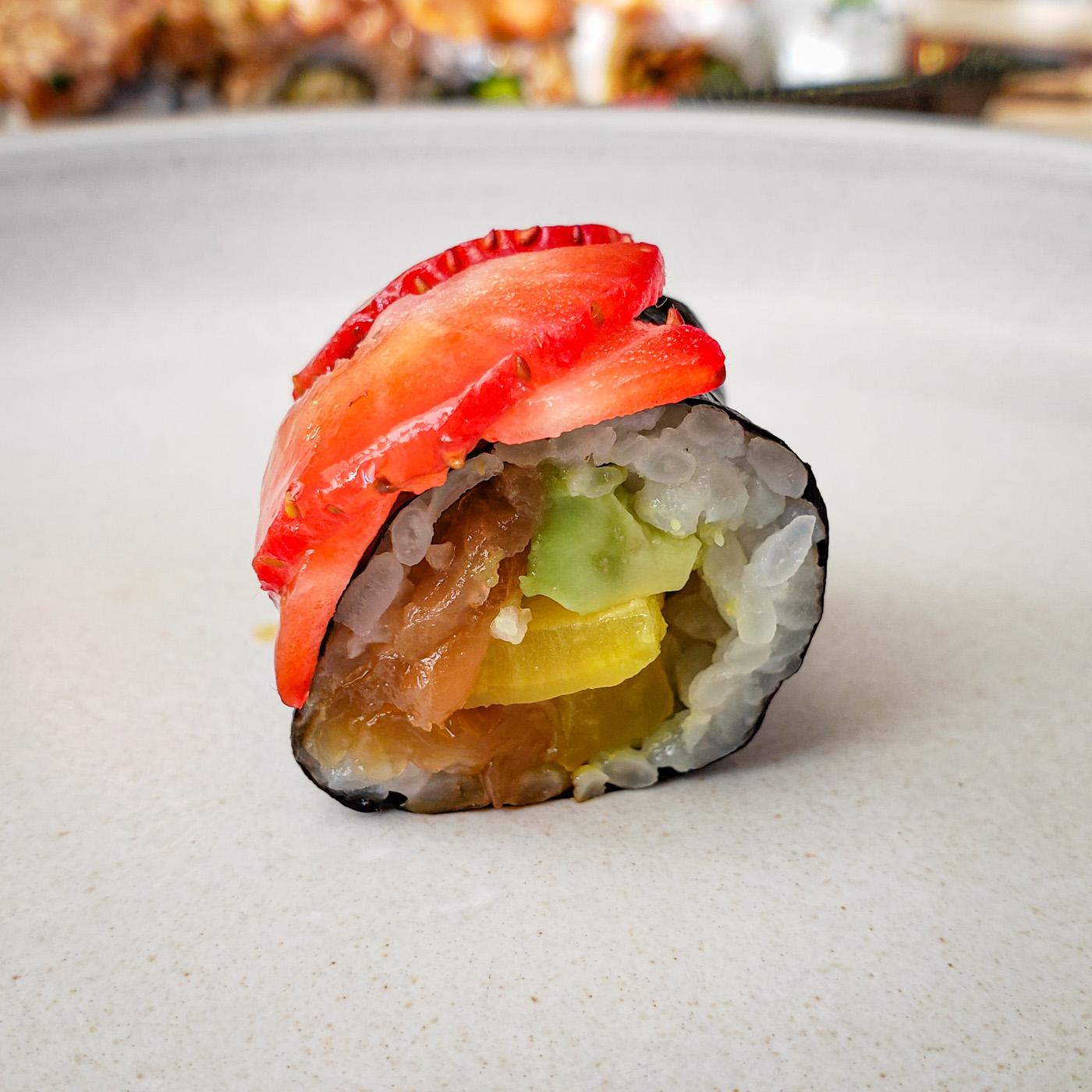 Straw-Veggie from Tomo Sushi and Ramen
