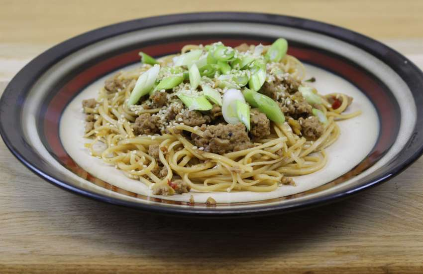 Spicy Pork Noodles