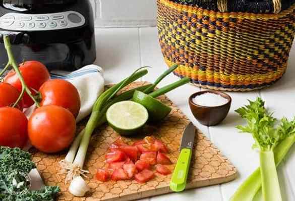 Veggie Cocktail Green Smoothie Recipe | SimpleGreenSmoothie.com
