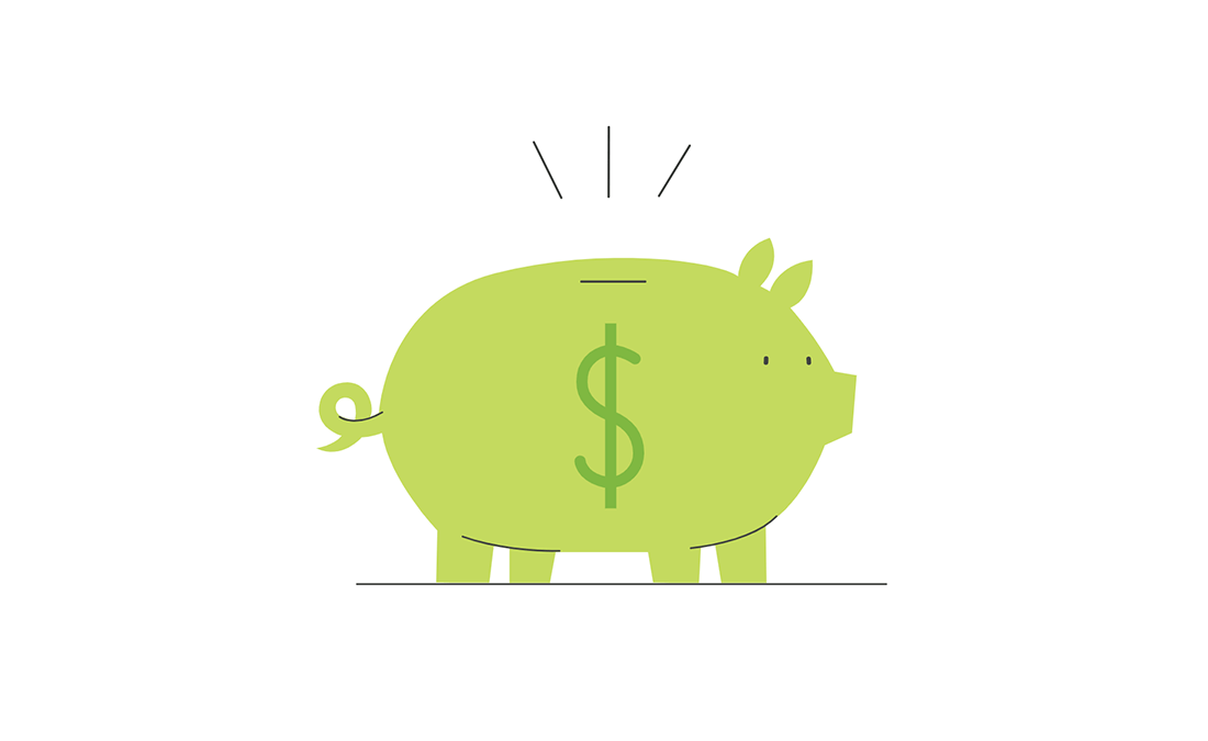 green-piggy-bank