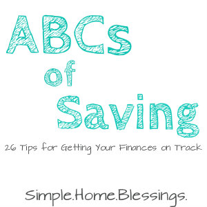 ABCs of Saving Intro