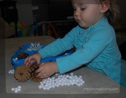 Winter Sensory Box 2