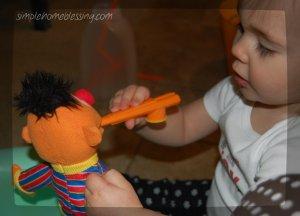 ernie plays kazoo