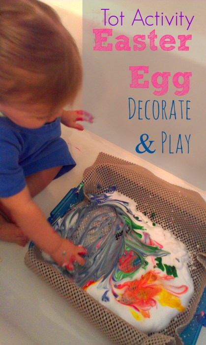 Toddler Activity Easter Egg Decorate _ Play