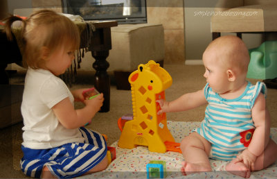 Girls at play