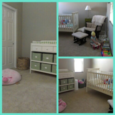 nursery clean