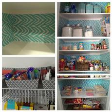 pantry clean