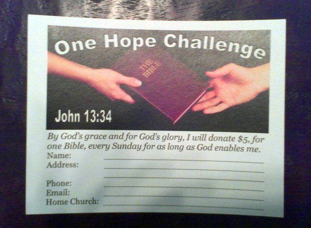 One Hope Project