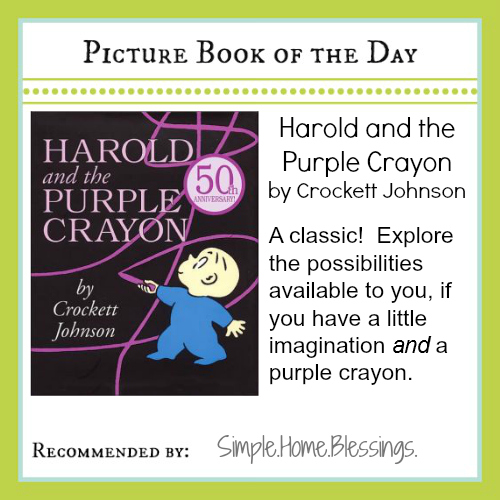 PBOTD Harold and the Purple Crayon
