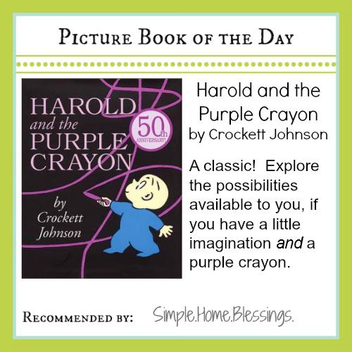 PBOTD Harold and the Purple Crayon