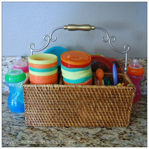 Toddler Drink and Snack Station 2a