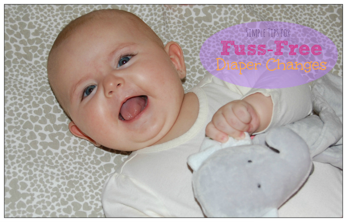 Simple Tips for Fuss-Free Diaper changes