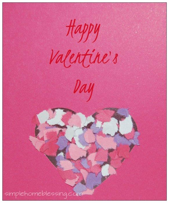 Contact Paper Valentine