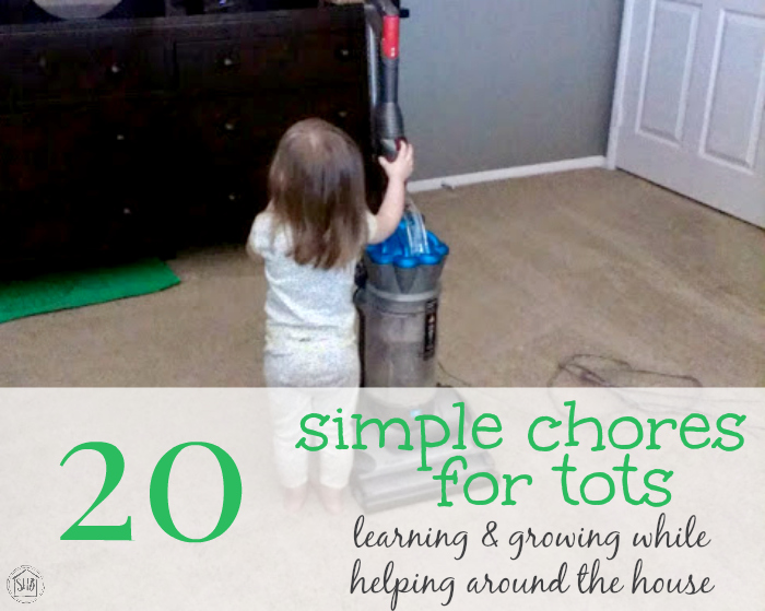 20 simple chores for tots