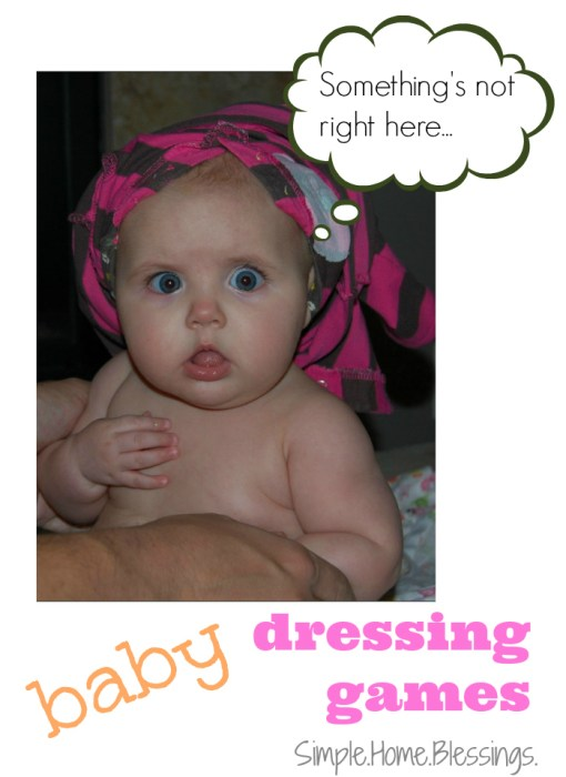 Baby Dressing Games - simple ways to get baby dressed
