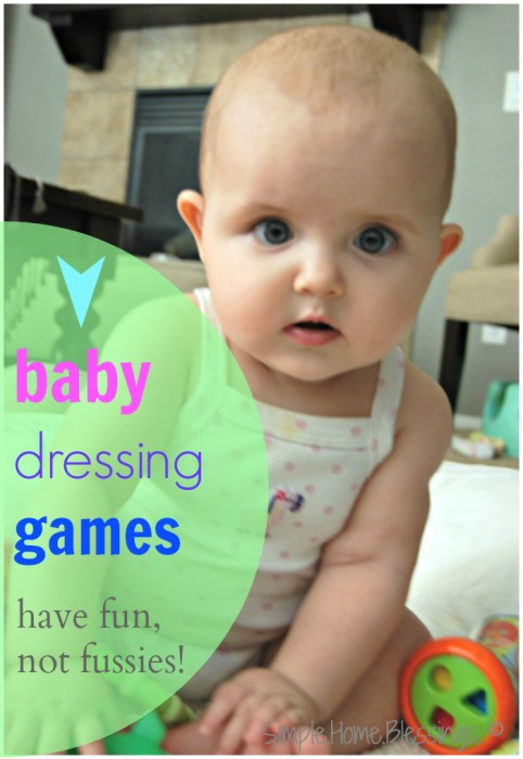 simple baby dressing games_