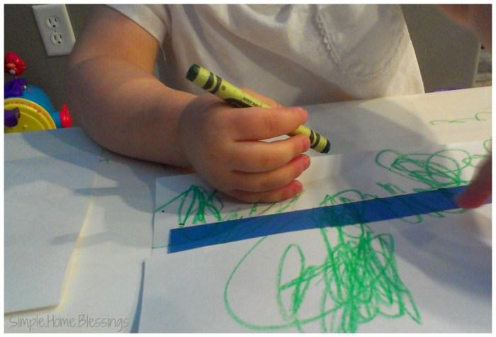 Toddler Craft It's Spring Kite Postcard