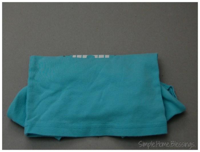 Folding Kids Bedclothes, step 4