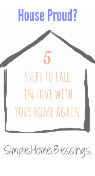 5 Steps to Fall in Love with your Home Again #ChampionsofHome #CleverGirlss