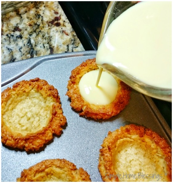 Coffee-mate #LatinTouch Dulce de Leche Custard and Coconut tarts