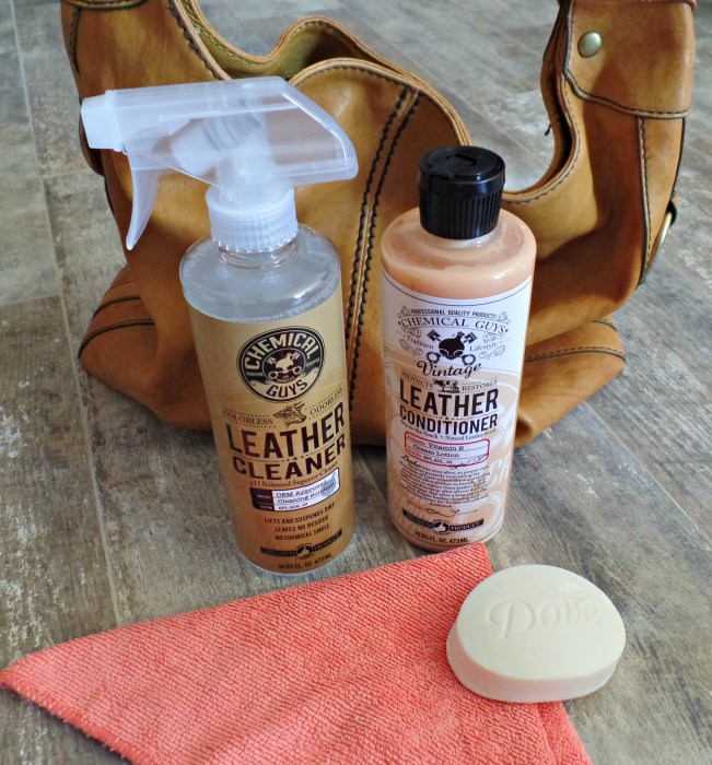 how to clean and condition leather