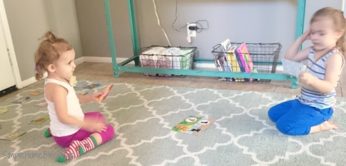 Toddler Puzzle Play activity