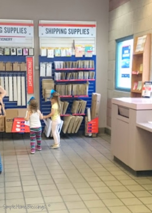 "Post Office ""I Spy"" for preschoolers"