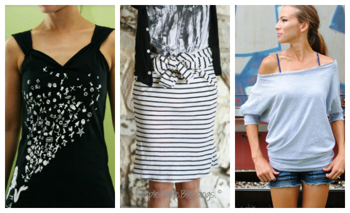 upcycled clothing - new clothing options from old clothes