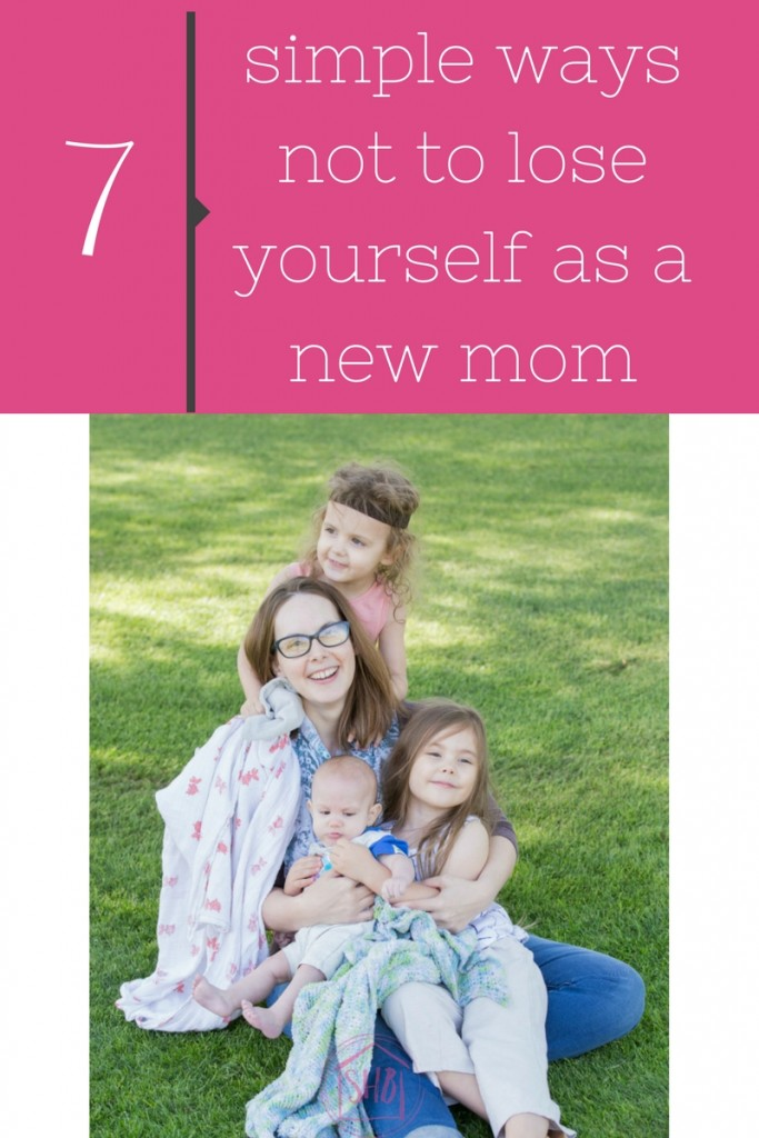 Adjusting to motherhood is HARD! Here's 7 things to do so you don't lose yourself after baby.
