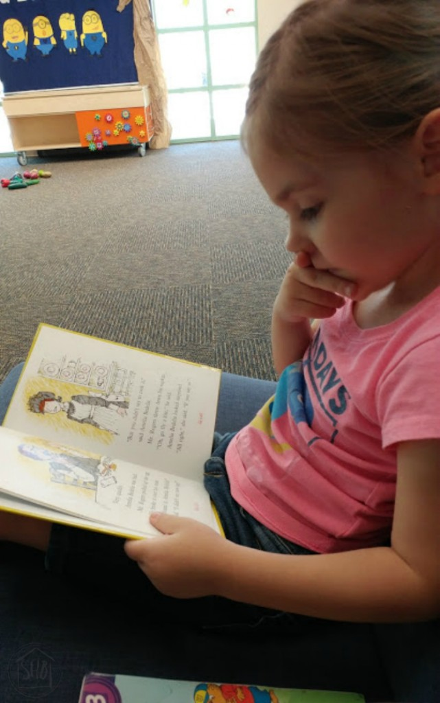 Kindergarten Reading Choices