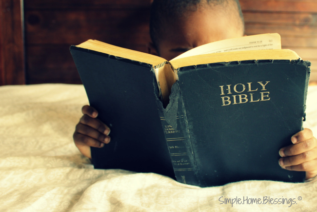 Inductive Study for Kids - The Gospel of John, 1:1-5 - Simple  Home