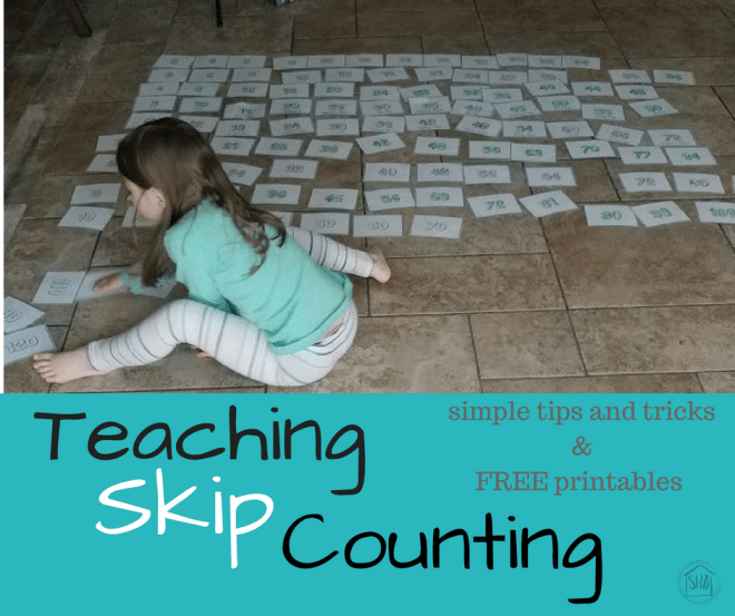 simple ideas for teaching skip counting