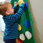 This weeks Christmas toddler activity for Abram Grey is suchhellip