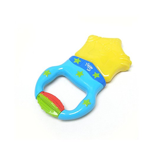 Teething Tip #2 - a vibrating teether works more consistently for baby than the cold teethers.