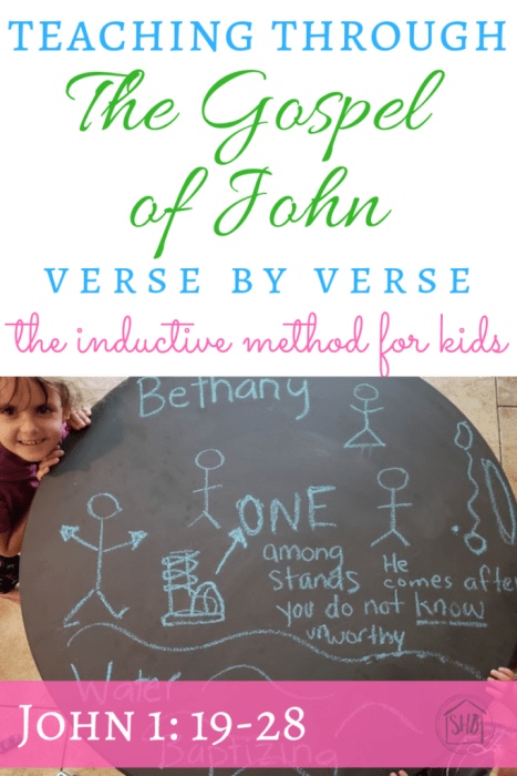 Inductive Study of the Gospel of John, chapter 1, verses 19-28