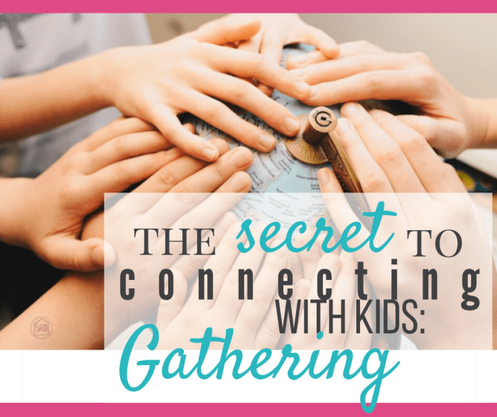 August 2019 Gathering for families - get the details on this morning time practice for the month.