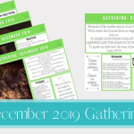 December 2019 Gathering Placemats