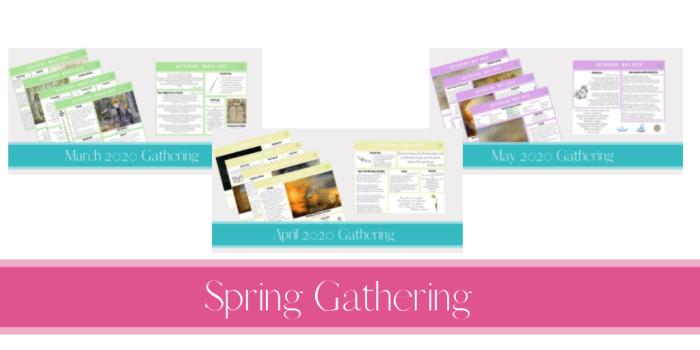 Spring Gathering Placemats