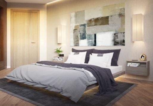 modern bedroom lighting ideas for a