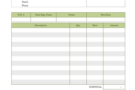 financial template for business plan fillable invoice template free