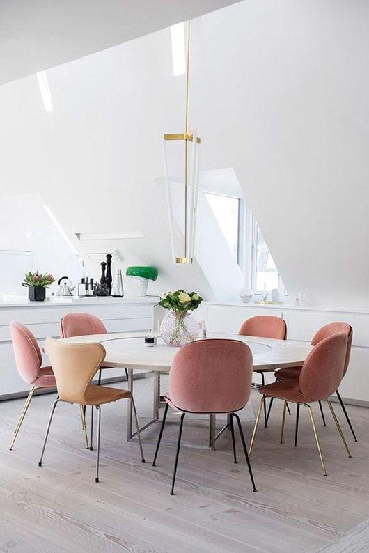 minimal_pink_dining room
