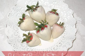 Yummy Dessert: Yogurt Covered Strawberries
