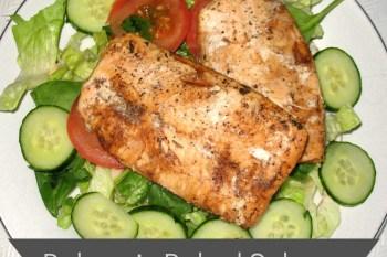 Balsamic Baked Salmon