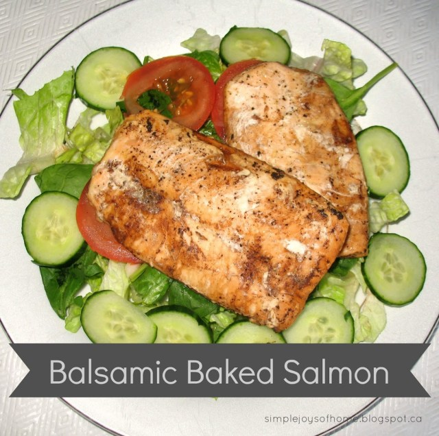 Balsamic Baked Salmon